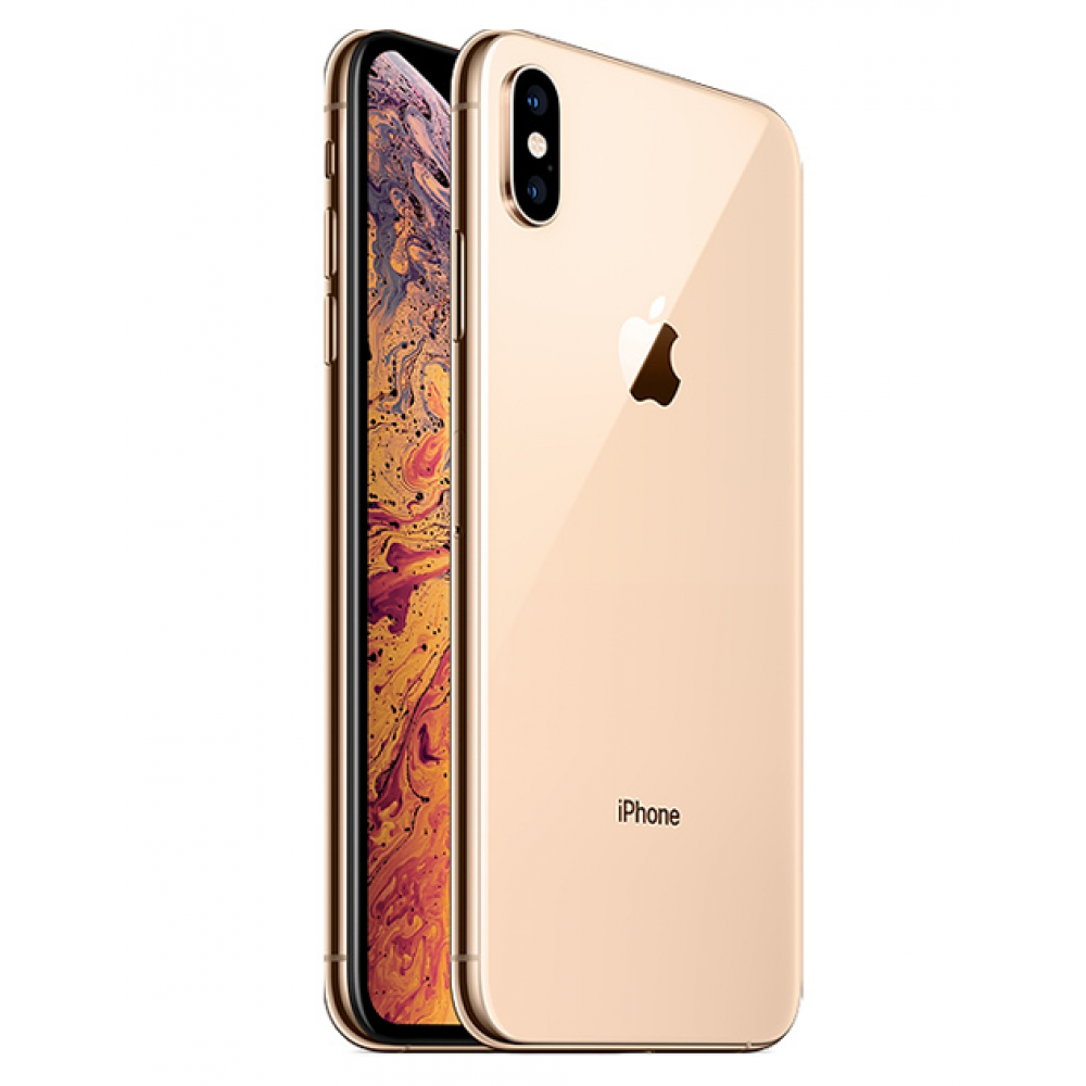"APPLE IPHONE XS MAX 64GB DUAL SIM 6.5"" GOLD"