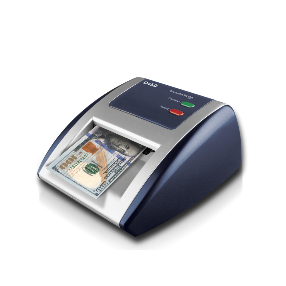ACCUBANKER COUNTERFEIT DETECTOR D450 BLUE