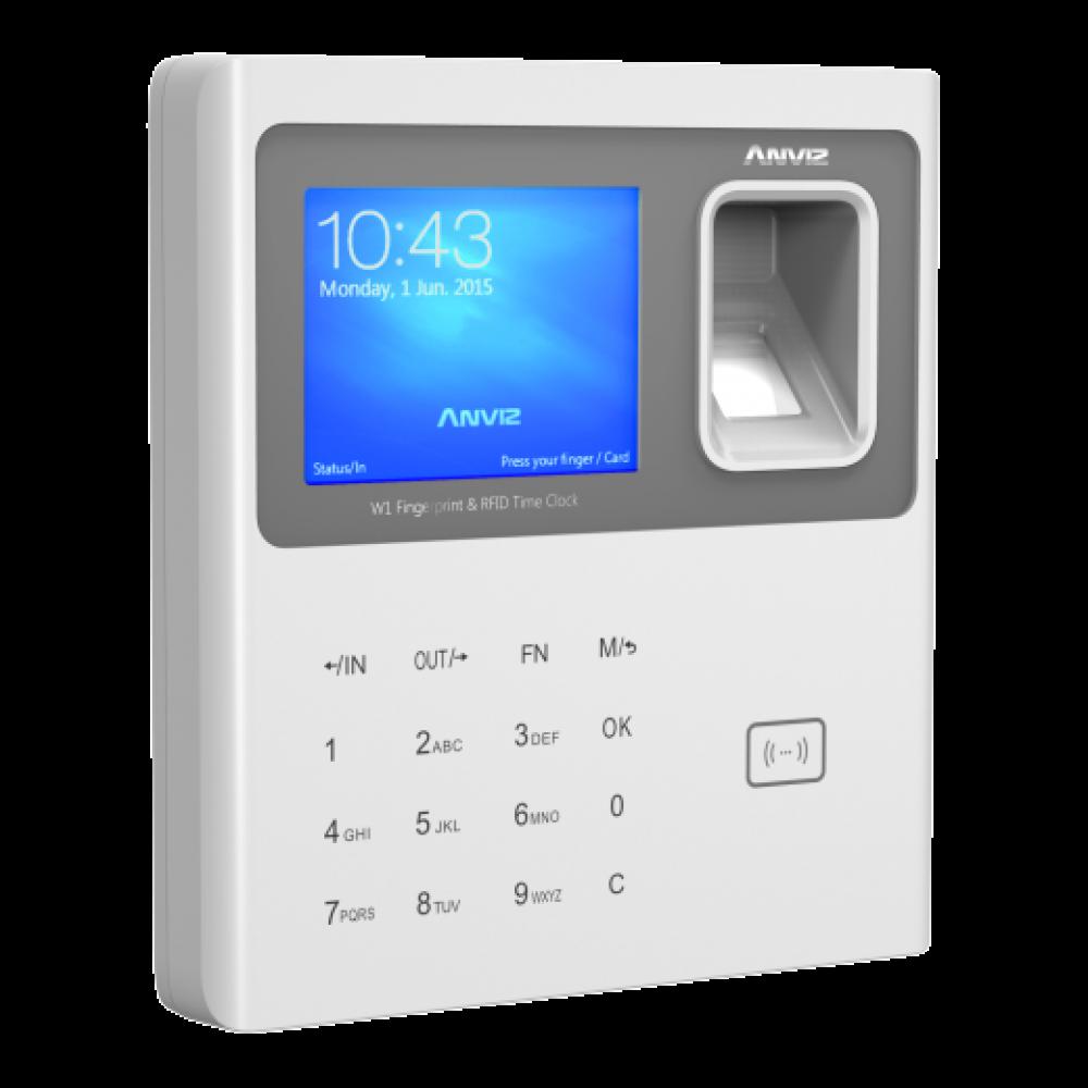 ANVIZ FINGERPRINT & RFID TIME ATTENDANCE W1 WHITE