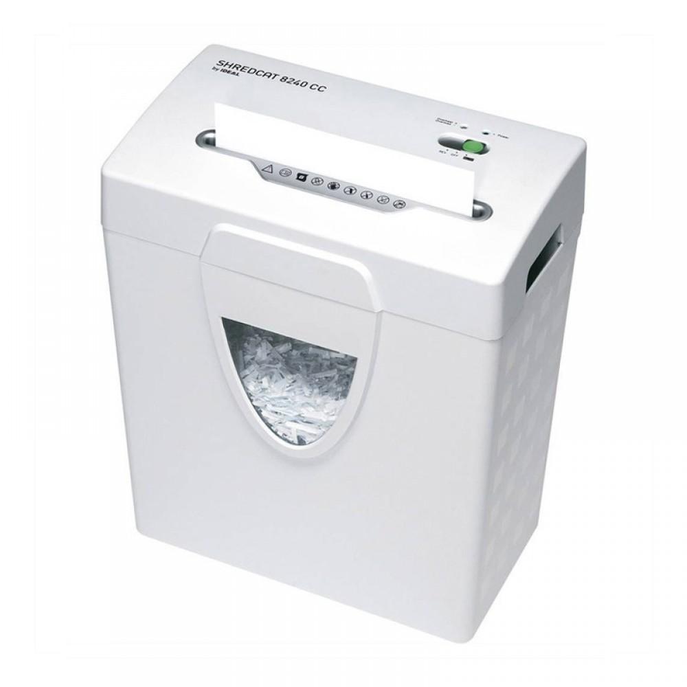 IDEAL PAPER SHREDDER 8240CC 18L WHITE