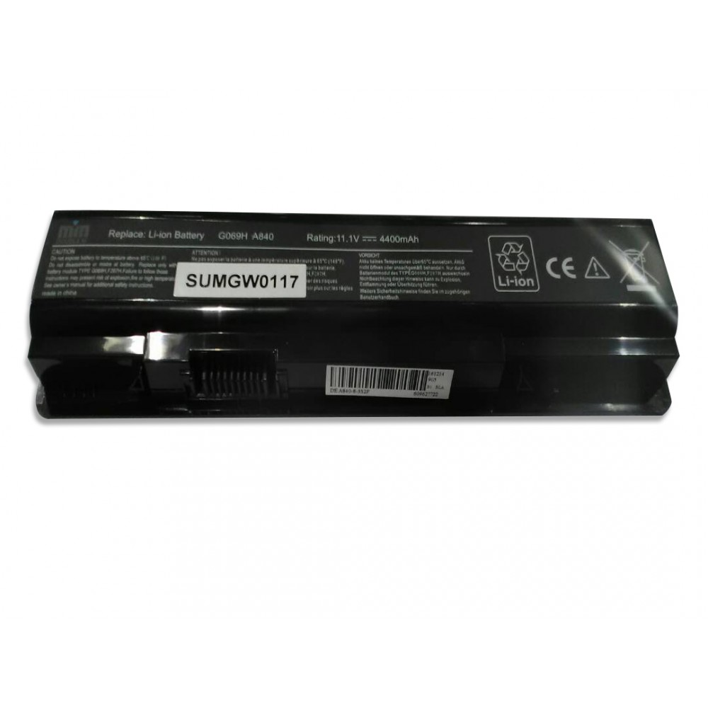 M.M BATTERY FOR DELL LAPTOP  A860 - A840-1015  F287H