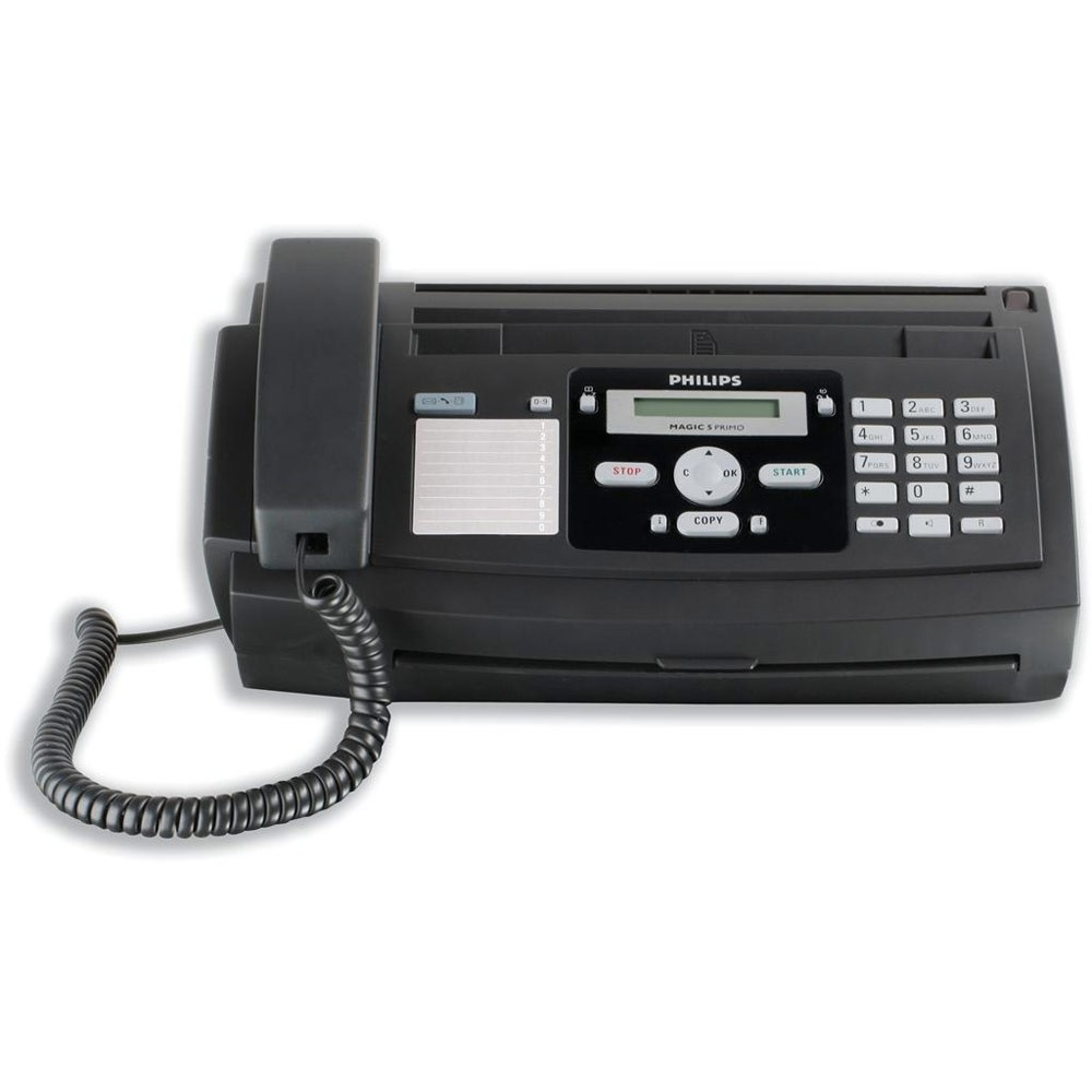 PHILIPS FAX WITH TELEPHONE-631E BLACK