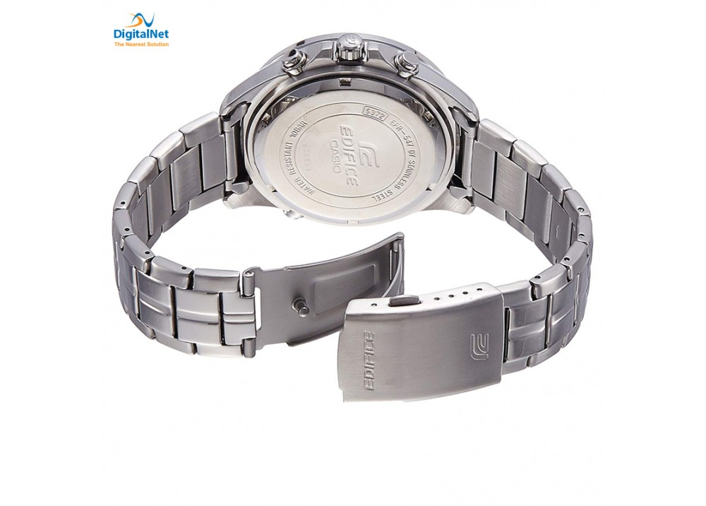 CASIO HAND WATCH STAINLESS STEEL BAND EFR-547D-2AV-EDIFICE
