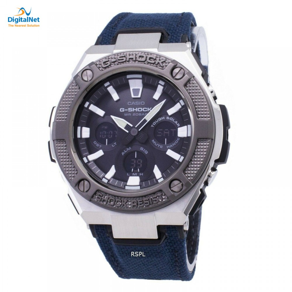 CASIO HAND WATCH CLOTH BAND GST-S330AC-2AD DARK BLUE