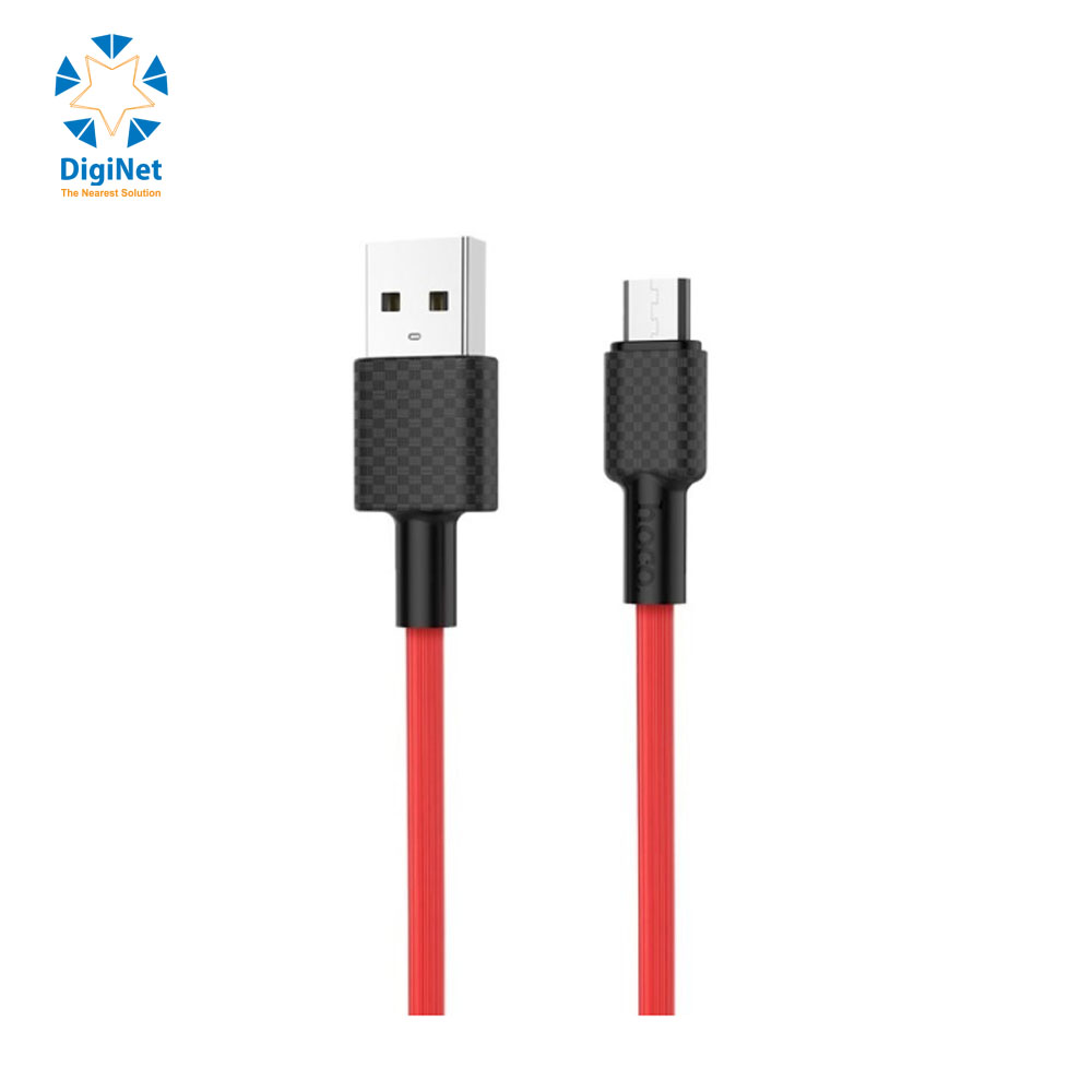 HOCO CABLE X29 MICRO RED