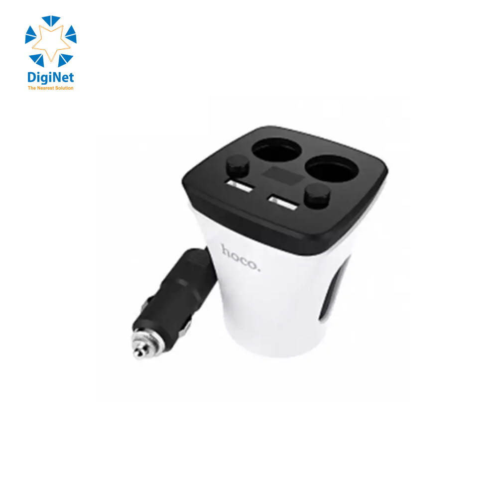 HOCO CAR CHARGER Z11 CUP WHITE