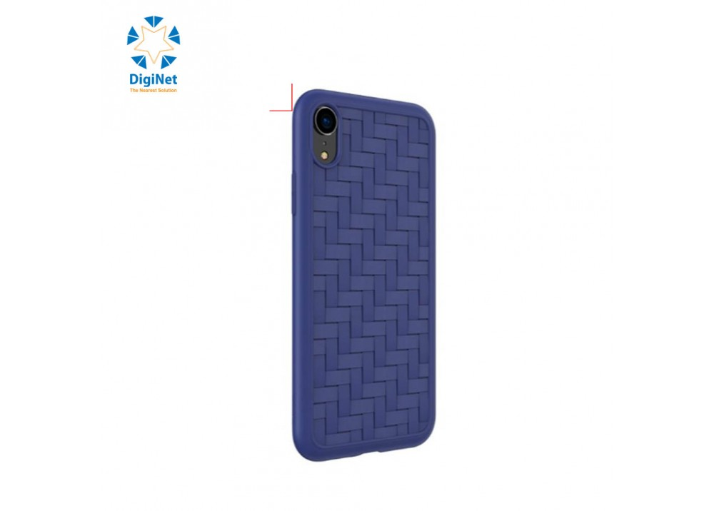 """HOCO SOFT CASE FOR I-PHONE 6.1"""" TRACERY BLUE"""