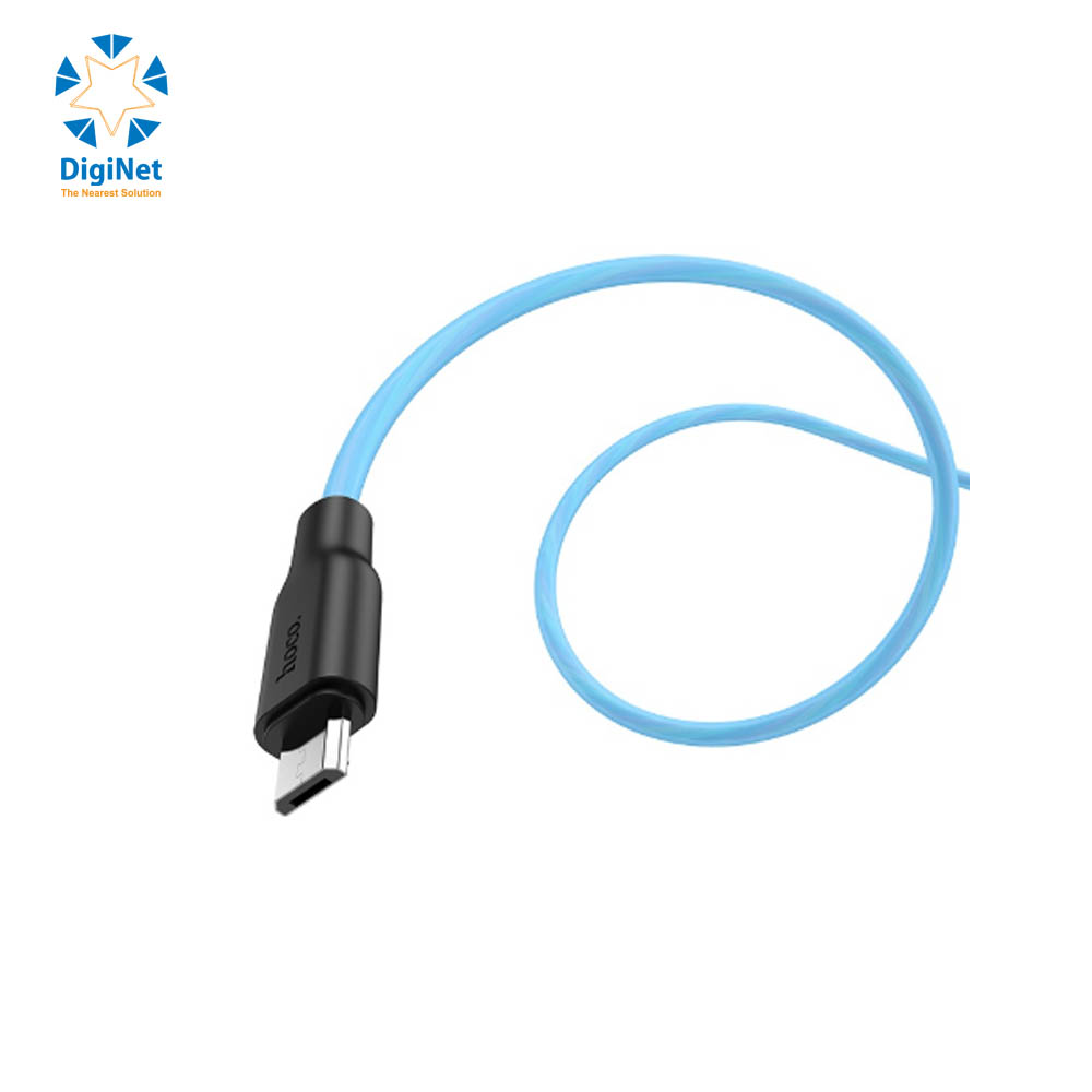 HOCO CHARGING CABLE DATA X21+ TYPE-C BLUE