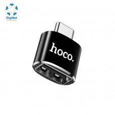 هوكو محول UA5 TYPE-C TO USB اسود