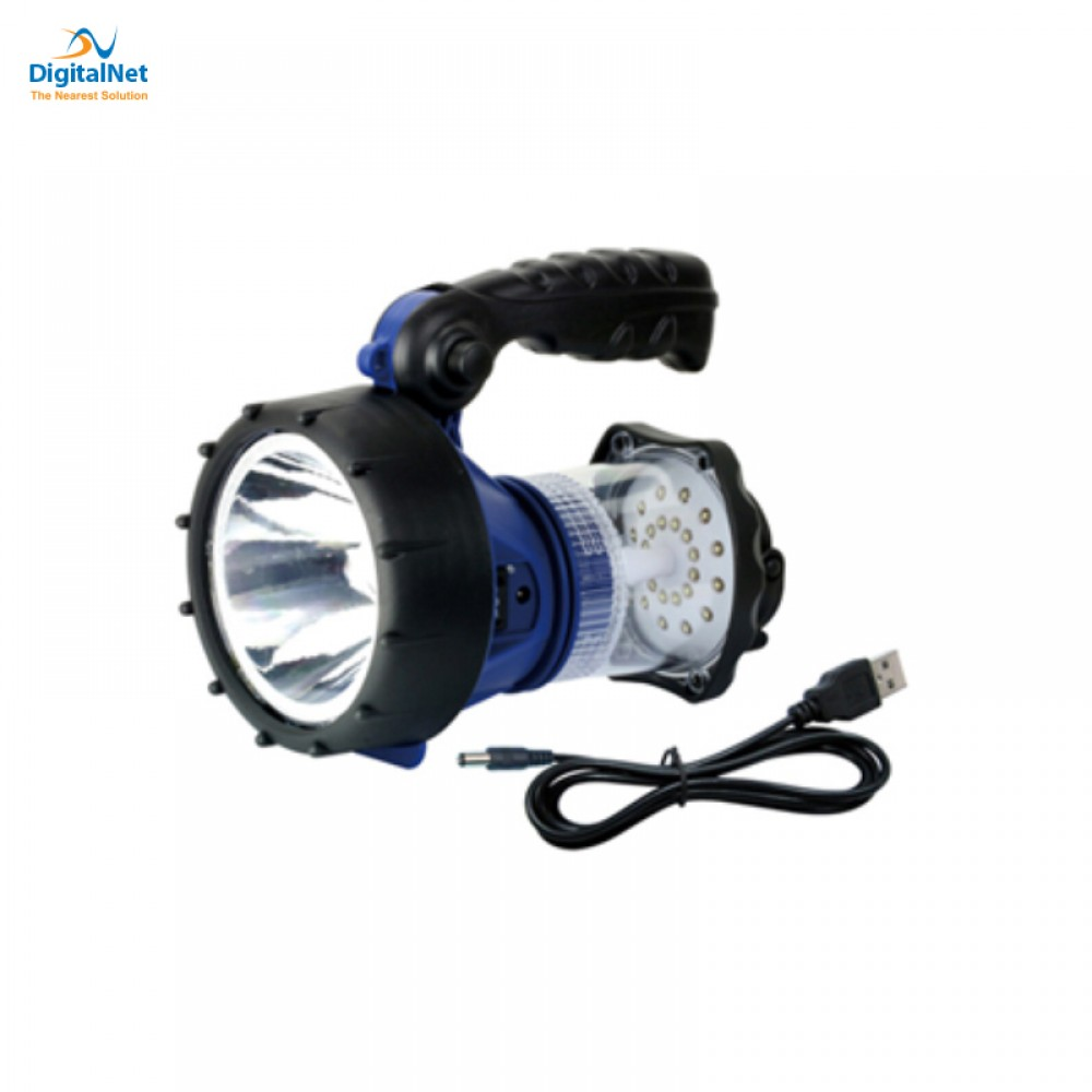 WESTINGHOUSE SEARCHLIGHT AND LANTERN WF 1504 -CB 3W USB RECHARGEABLE