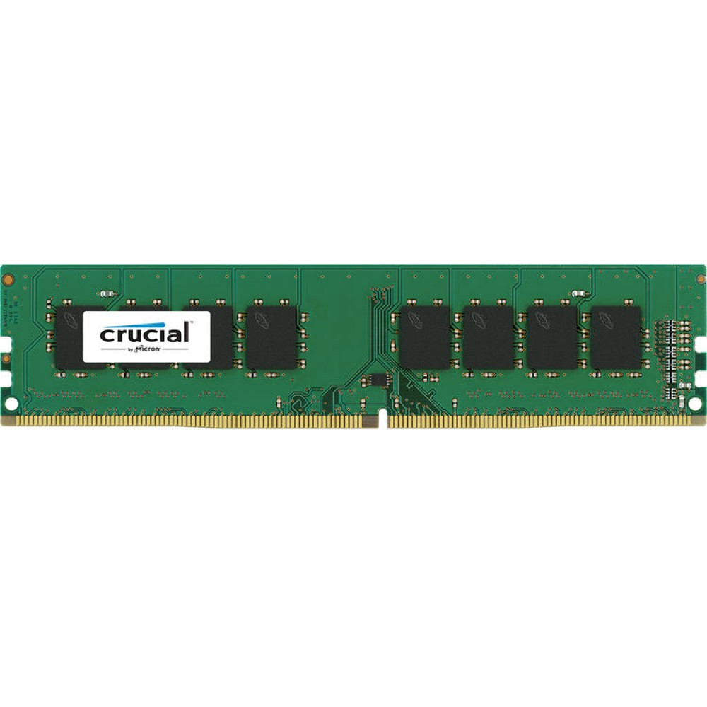 CRUCIAL RAM FOR PC DESKTOP DDR4 2400 MHz 4GB UDIMM BOX