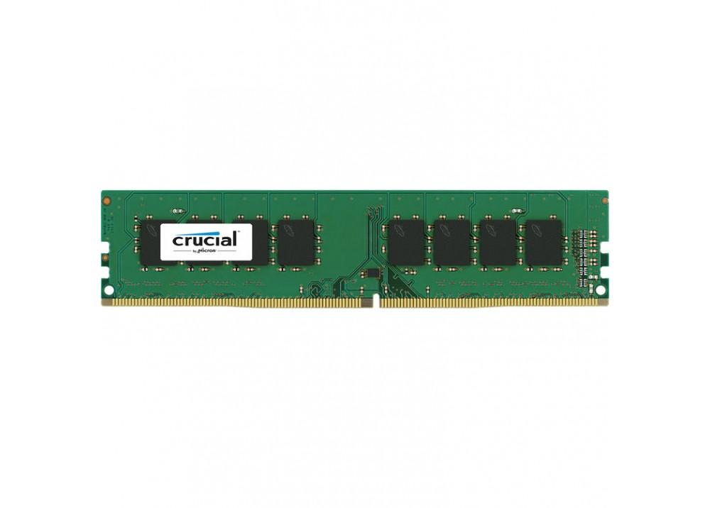 CRUCIAL RAM FOR PC DESKTOP DDR4 2400 MHz 4GB UDIMM BOX
