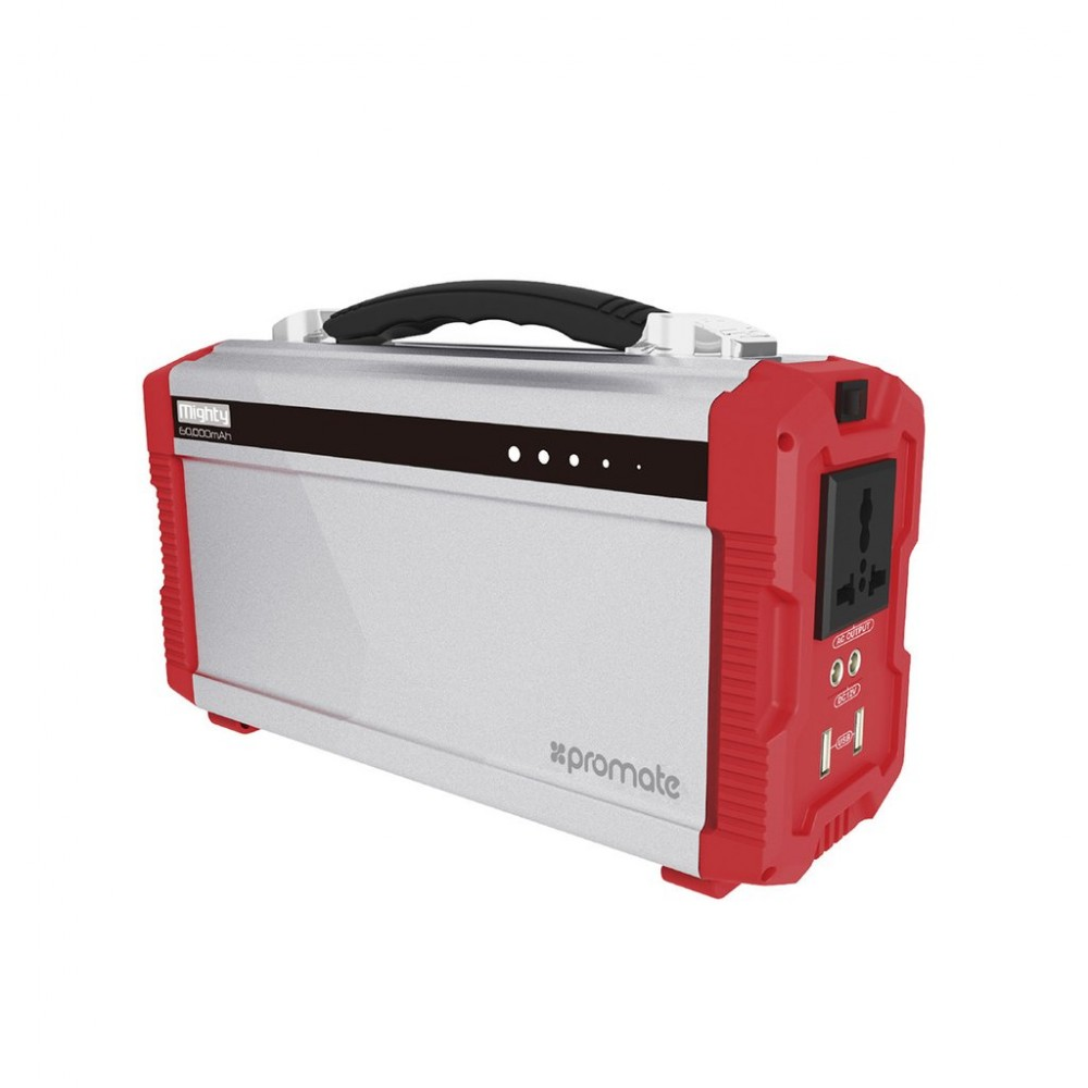 PROMATE MIGHTY OUTDOOR HAEVY-DUTY EMERGENCY POWER STATION  60.000 MAH 200W