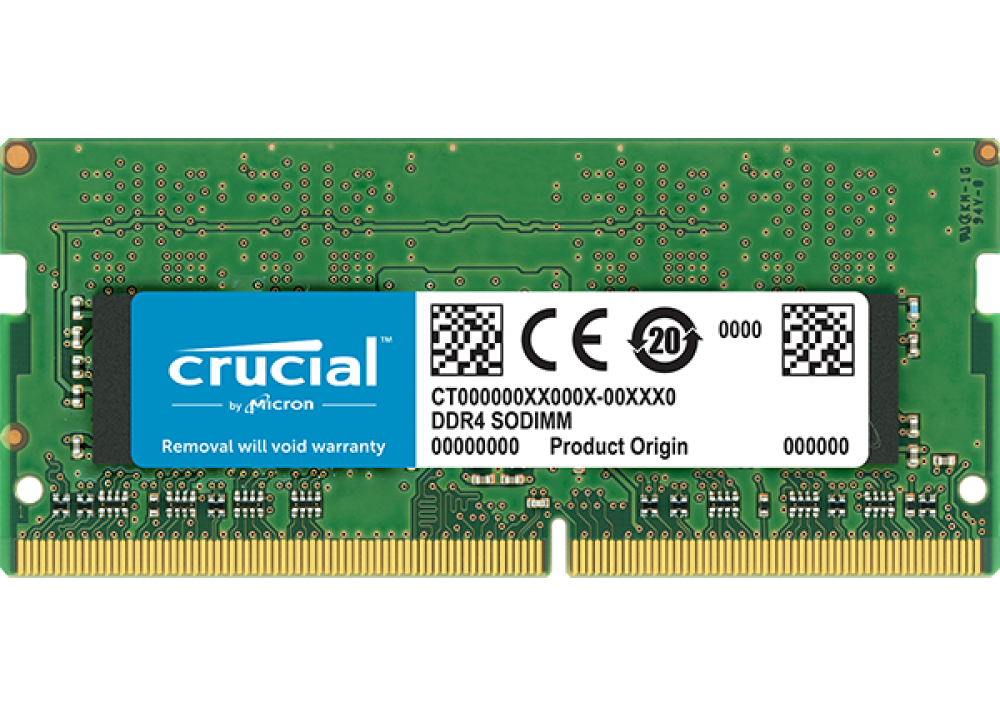 CRUCIAL RAM FOR LAPTOP 16 GB DDR4 SO-DIMM 2400 BOX