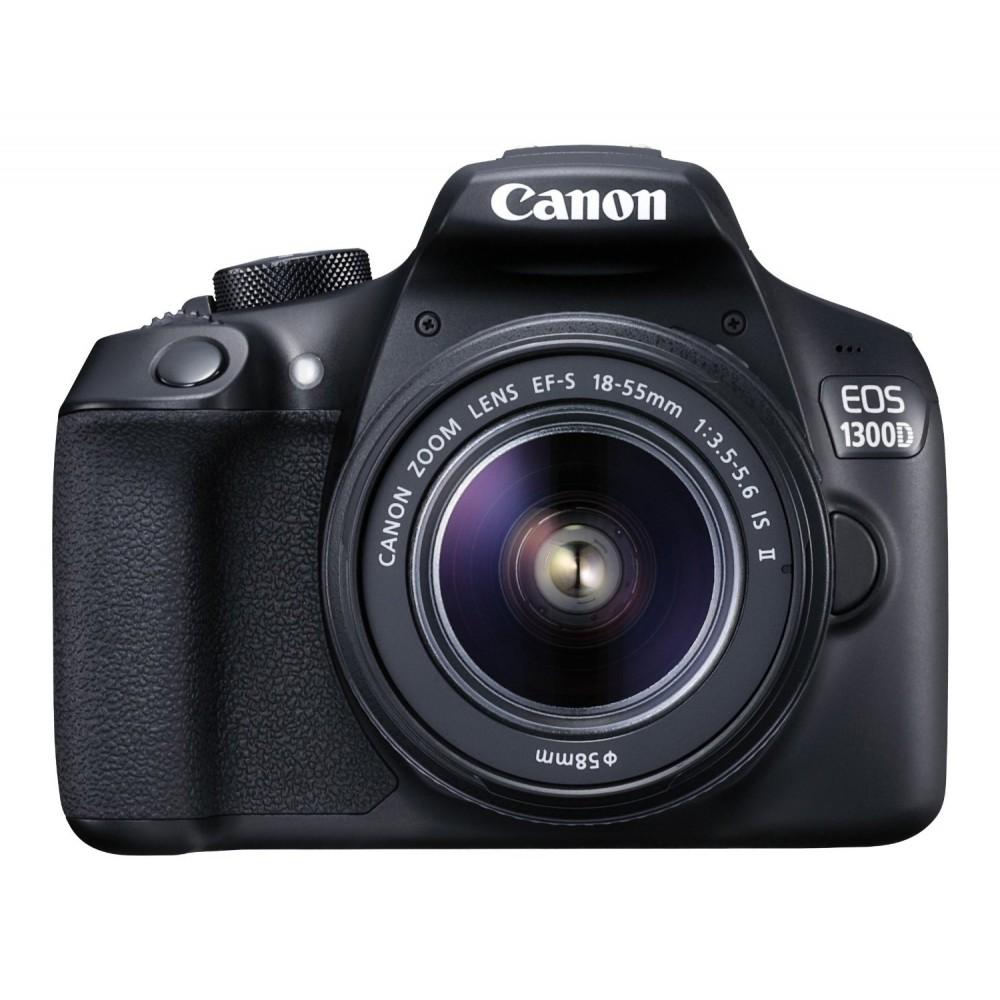 CANON DIGITAL SLR CAMEAR  EOS 1300D 18mp 18-55mm LENS KIT BLACK