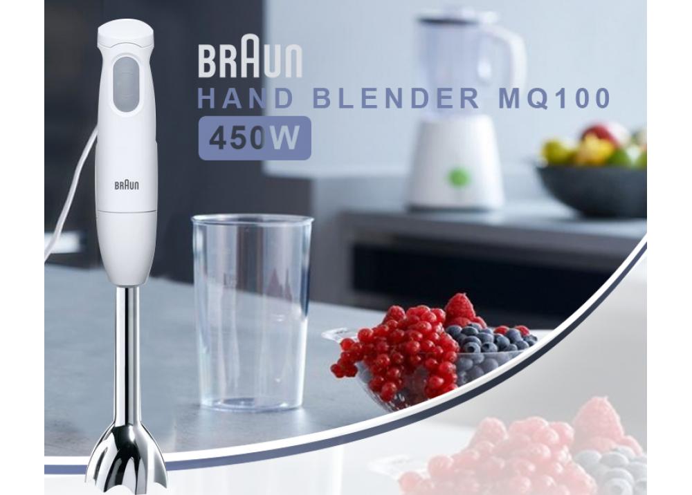 BRAUN HAND BLENDER MQ100 450W GRAY