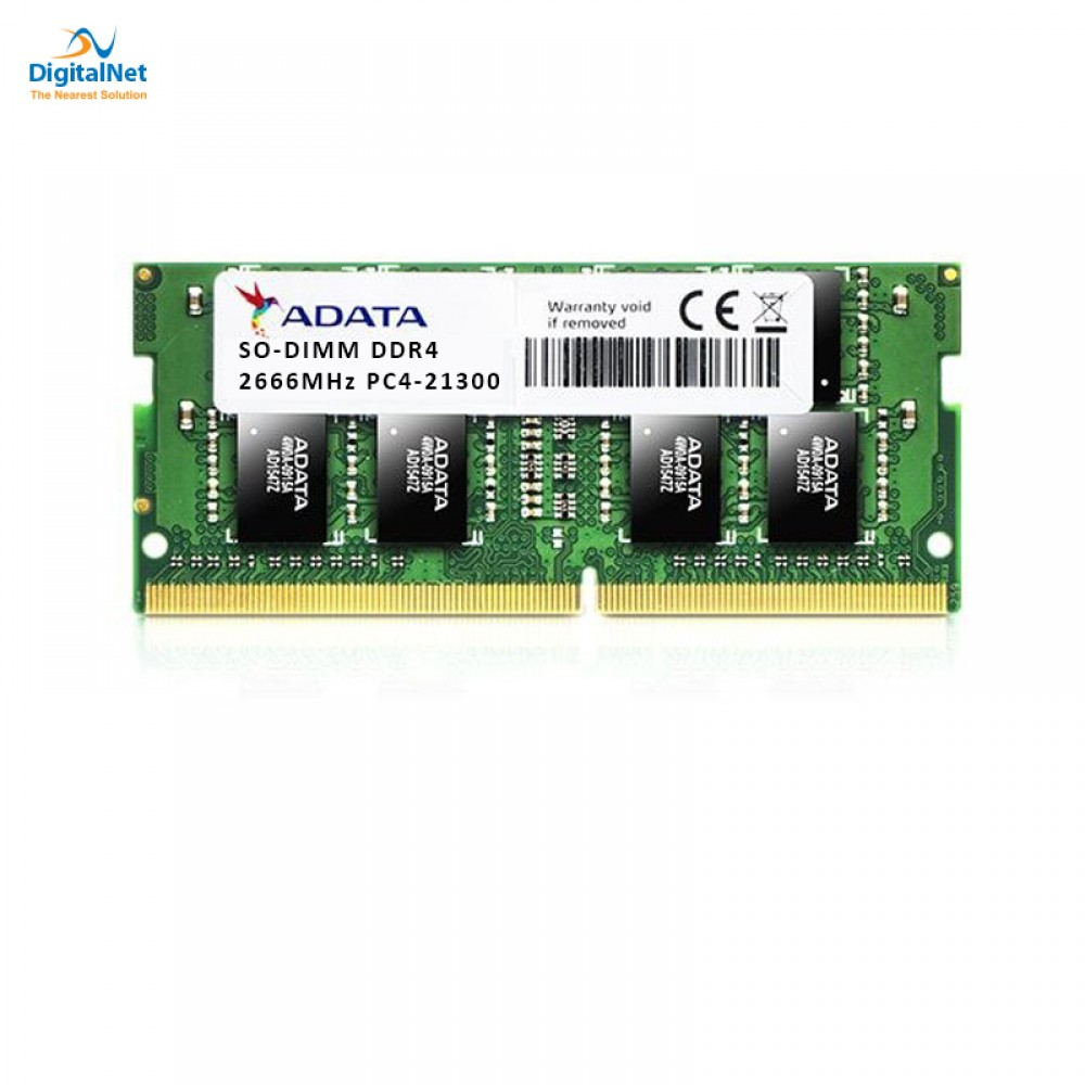 ADATA RAM FOR LAPTOP 8GB DDR4  SO-DIMM 2666 MHZ