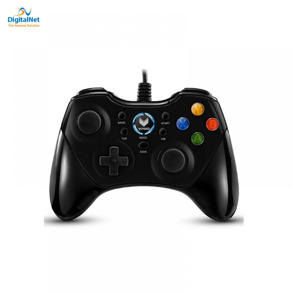 RAPOO GAMEPAD WIRED V600 BLACK