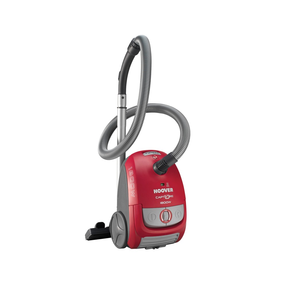 HOOVER VACUUM CLEANER 1800W GRAY & RED