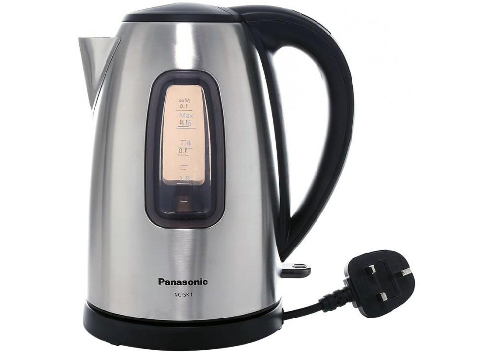 Panasonic Kettle Nc Sk1btn 2200w 1 6l Silver Digitalnet