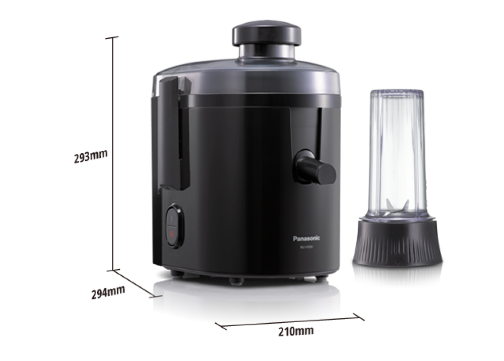 PANASONIC JUICE EXTRACTOR MJ-H300KTJ 400W BLACK