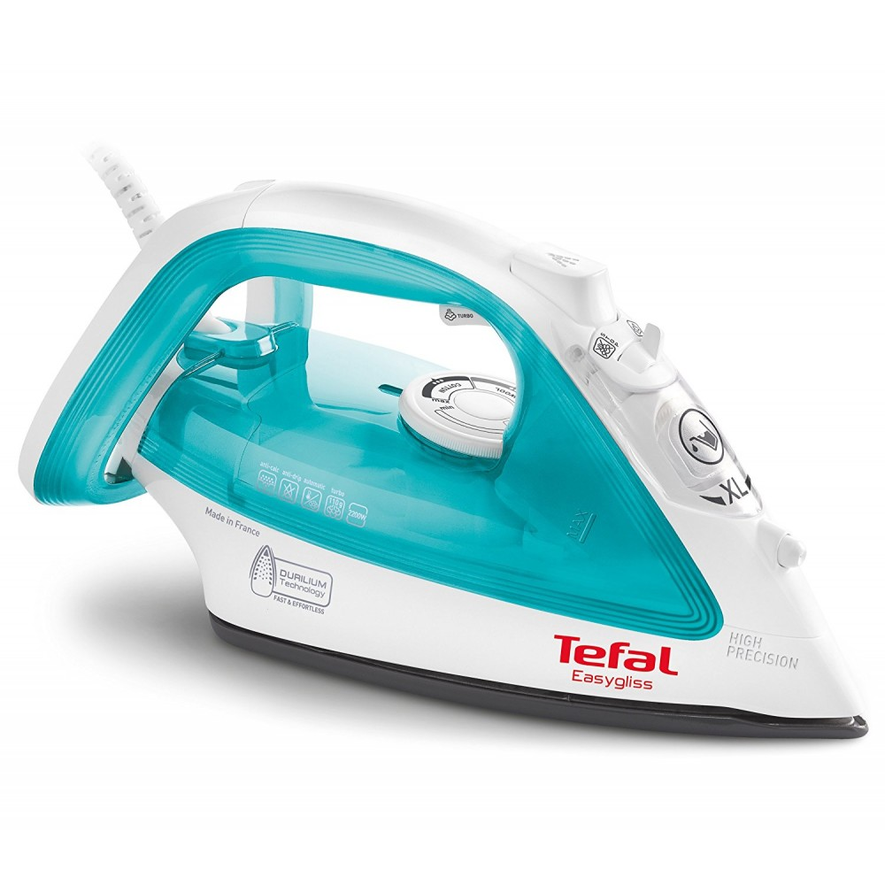 TEFAL HAND STEAM IRON FV3951 2400W WHITE