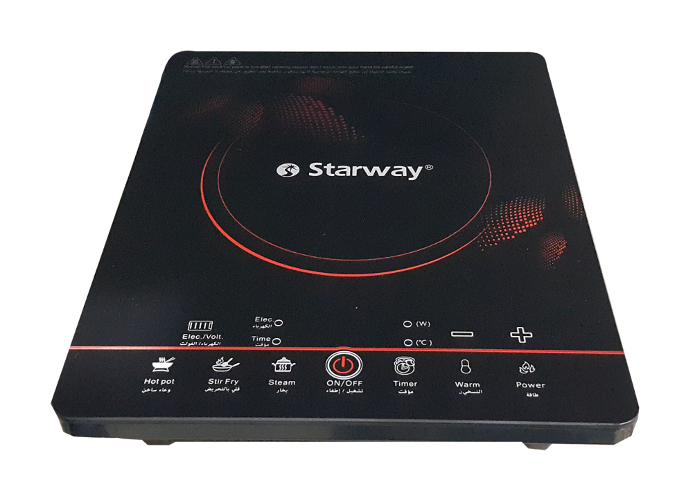 STARWAY INDUCTION COOKER SW-2811C 2200W BLACK
