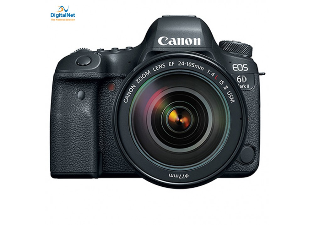 CANON CAMERA EOS-6D Mark II EF 24-105 MM  USM II LENS BLACK