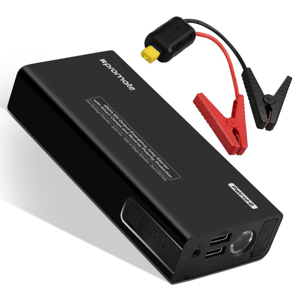 PROMATE PATROL‐2 POWERFUL  JUMP STARTER FOR CAR