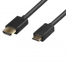 PROMATE HDMI TO MINI HDMI CABLE LINK MATE ‐H2 1.5cm BLACK