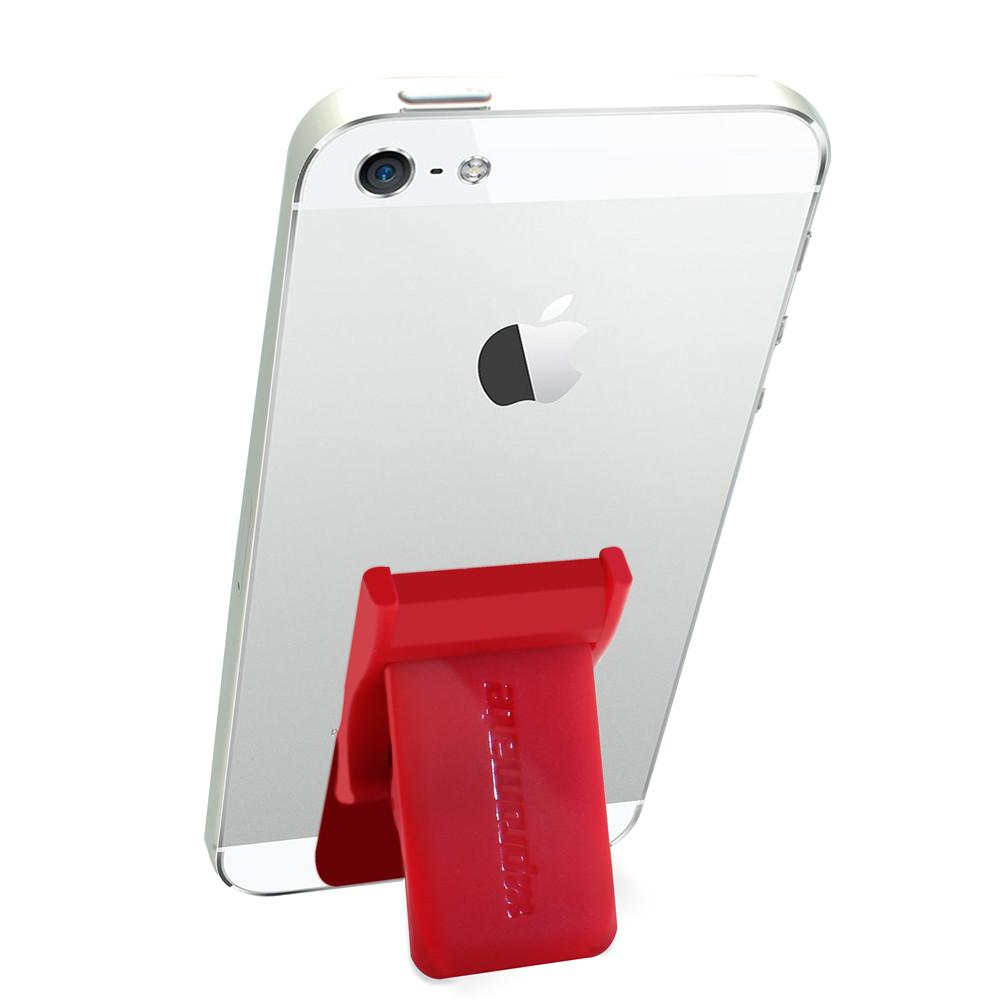 PROMATE  SECURE SELFIE FOR SMARTPHONES  GRIP MATE.MAROON