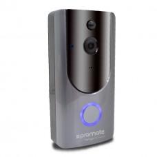 بروميت كاميرا فيديو واي فاي  DOORBELL  SMART MOTION SECURITY SYSTEM RANGER-1 رمادي