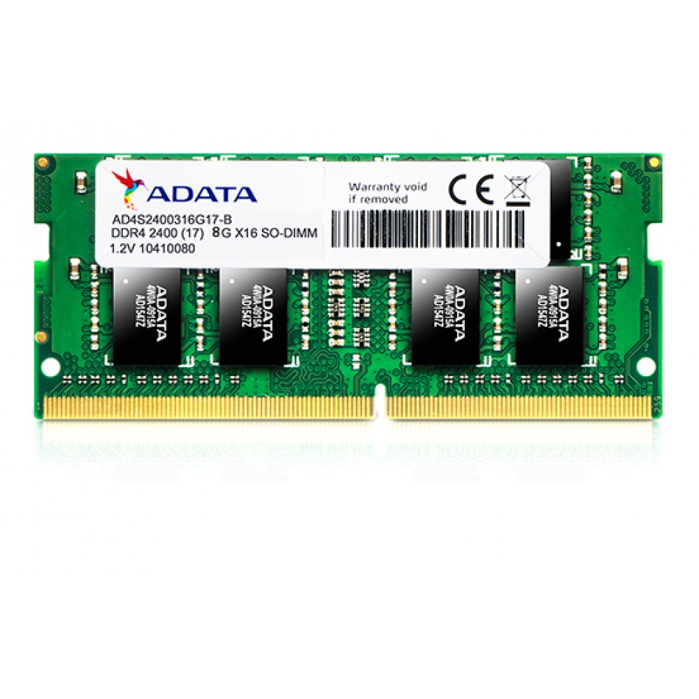 A-DATA RAM FOR LAPTOP 8GB DDR4 SO-DIMM 2400 BOX