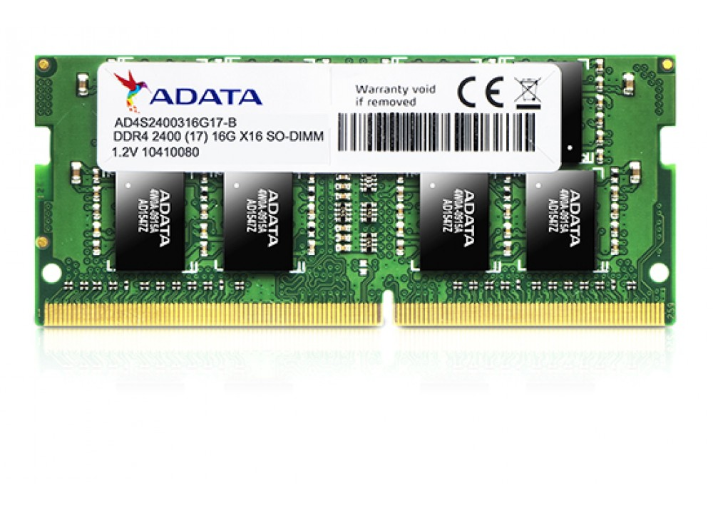 A-DATA RAM FOR LAPTOP 16GB DDR4 SO-DIMM 2400 BOX