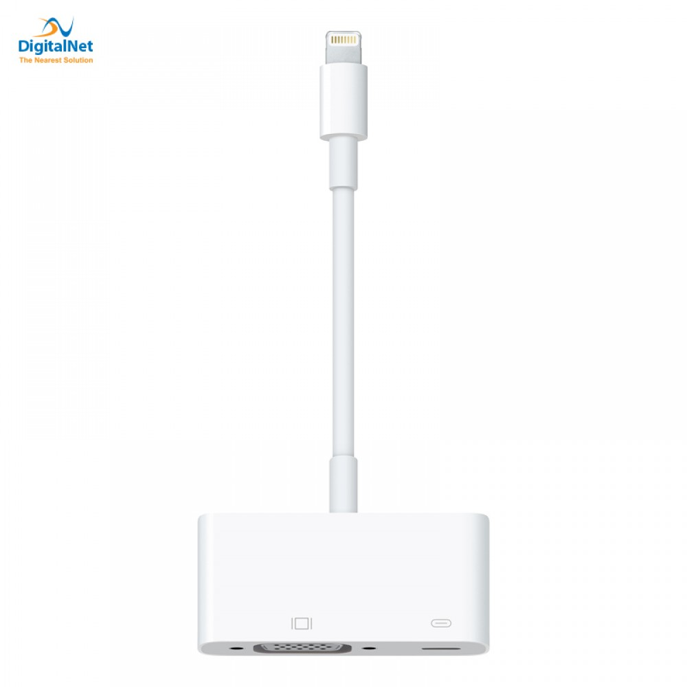 APPLE ADAPTER MD825 LIGHTING TO VGA WHITE