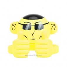 بروميت سبيكر لاسلكي صغير MONKEY APE أصفر