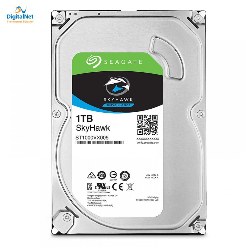 SEAGATE INTERNAL DESKTOP HARD DISK DRIVE  SKYHAWK SATA  6GB/S 64 MB 1TB