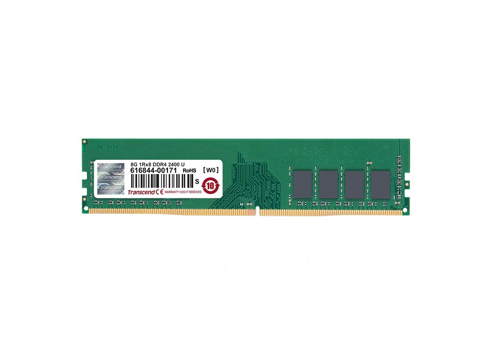 TRANSCEND RAM FOR PC DESKTOP 8GB DDR4 2400