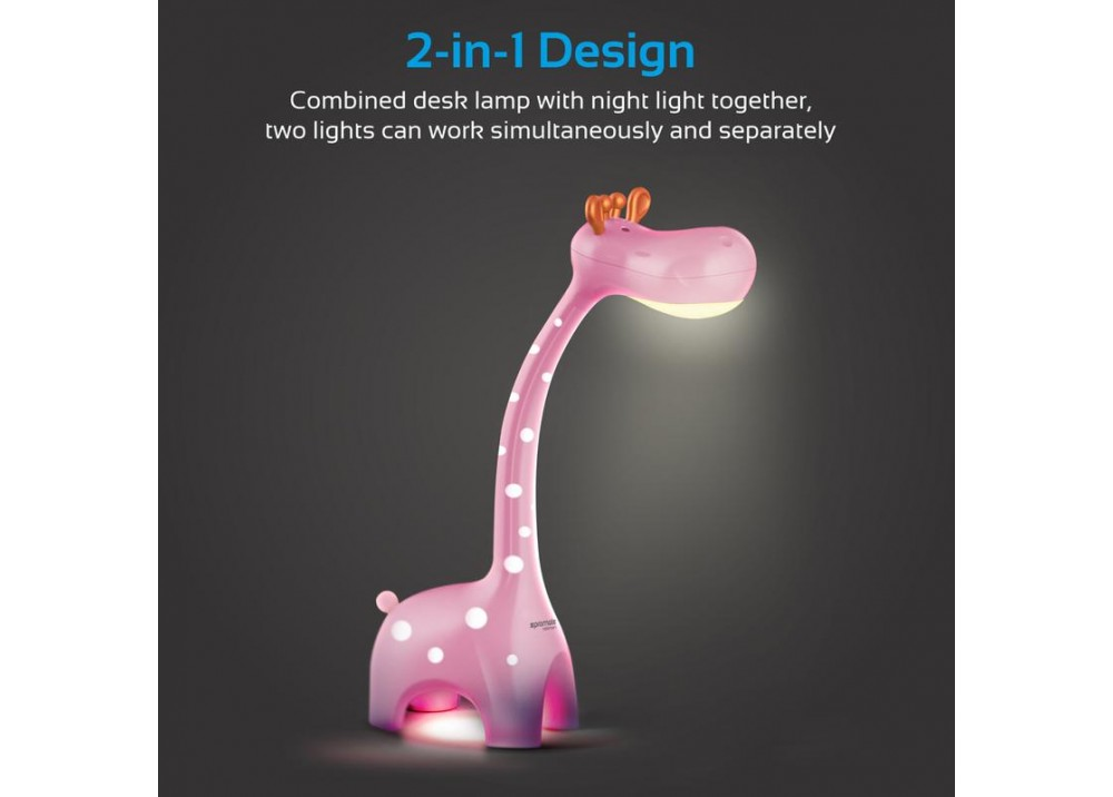PROMATE NIGHT LED LAMP MELMAN FOR KIDS 6W PINK