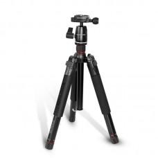 بروميت قاعدة تثبيت كاميرا PRECISE-155 5-SECTIONS CONVERTIBLE ALUMINIUM 153 cm أسود