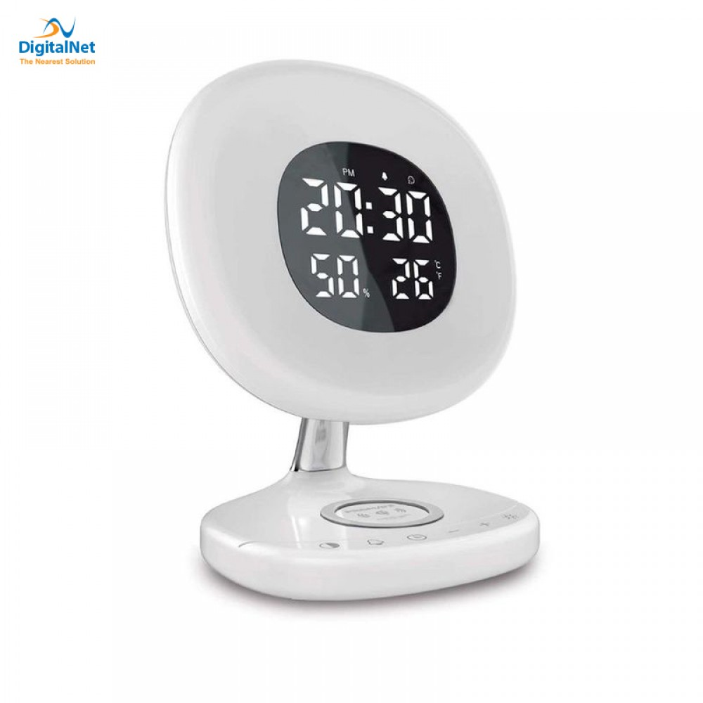 PROMATE AURARISE CLOCK LED LIGHT QI WHITE