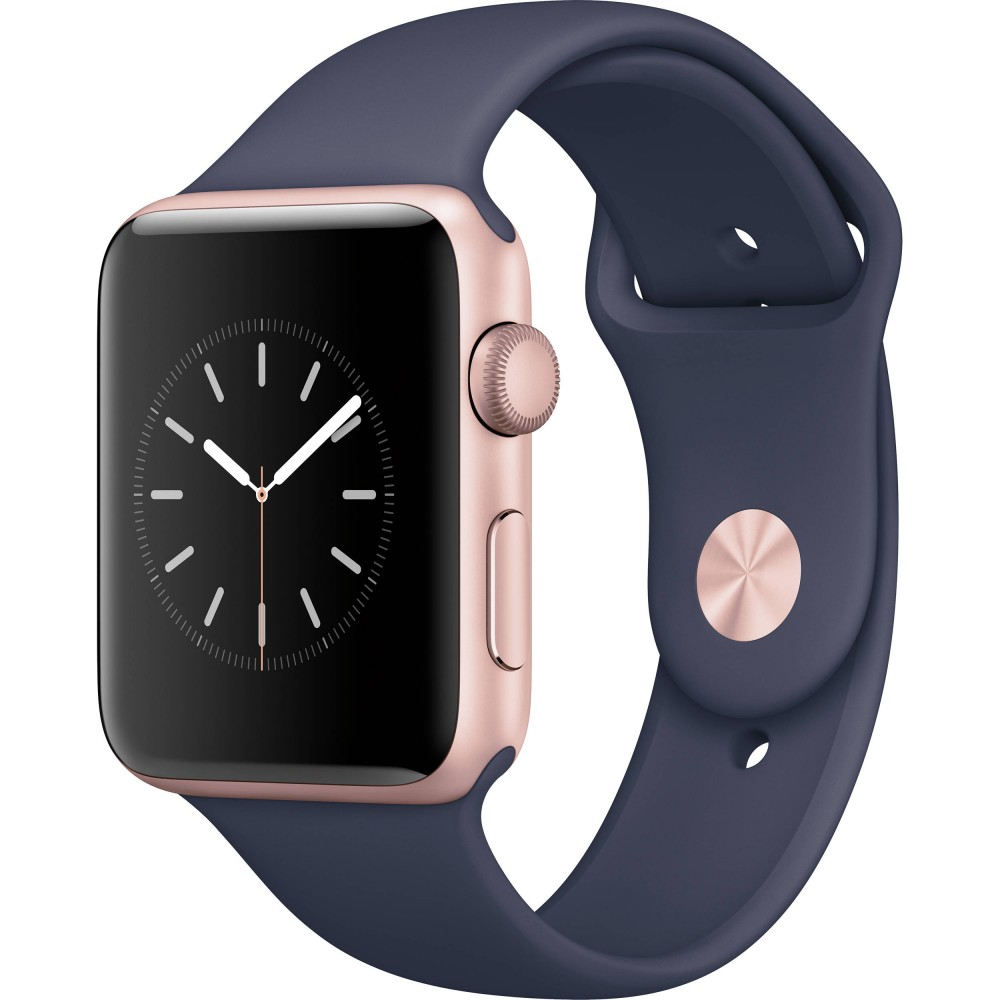 APPLE WATCH SERIES 2 42 MM SPACE GOLD MIDNIGHT BLUE