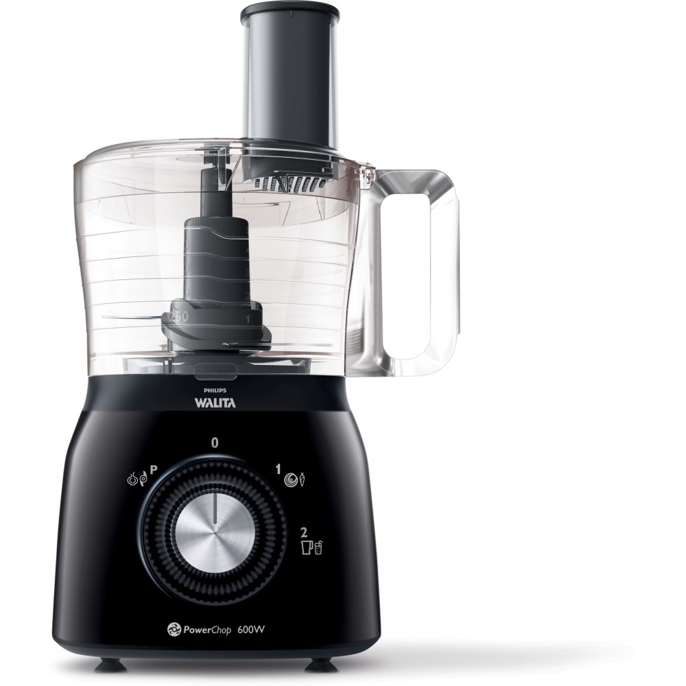 PHILIPS FOOD PROCESSOR HR7631 600W 1.3L BLACK
