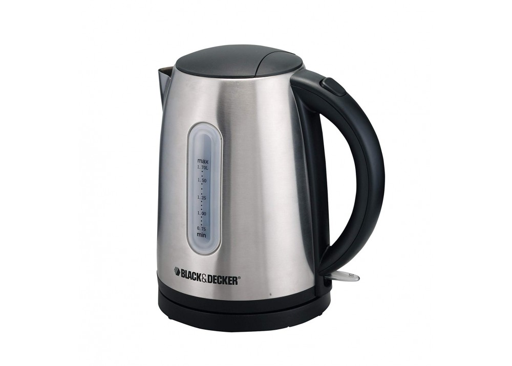 BLACK & DECKER KETTLE JC450 2200W 1.7L SILVER