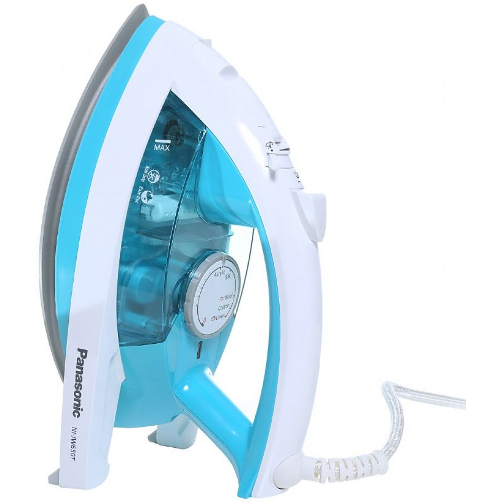 PANASONIC HAND STEAM IRON NI-JW650 2200W WHITE & BLUE