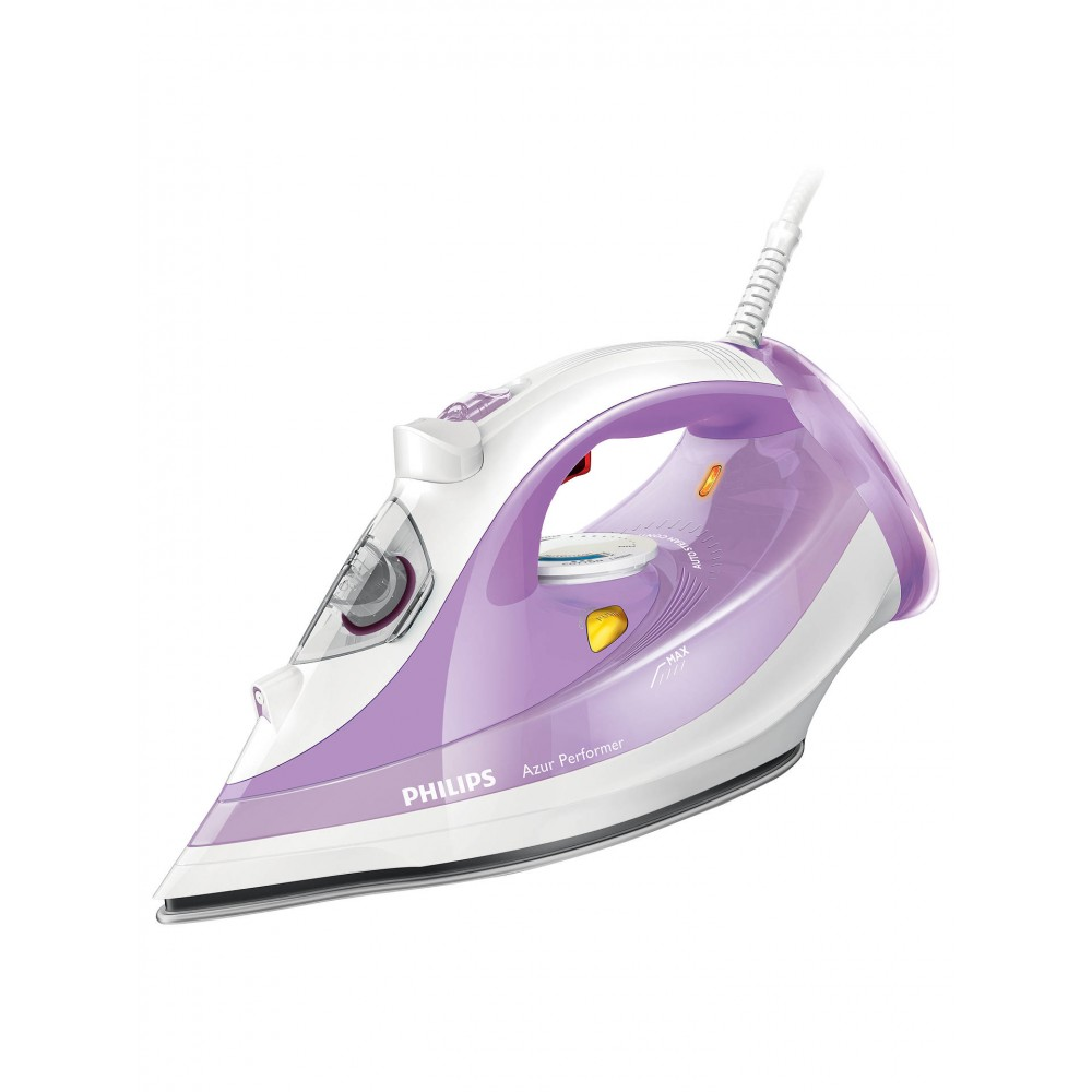 PHILIPS HAND STEAM IRON GC3803 2400W WHITE & PURPLE