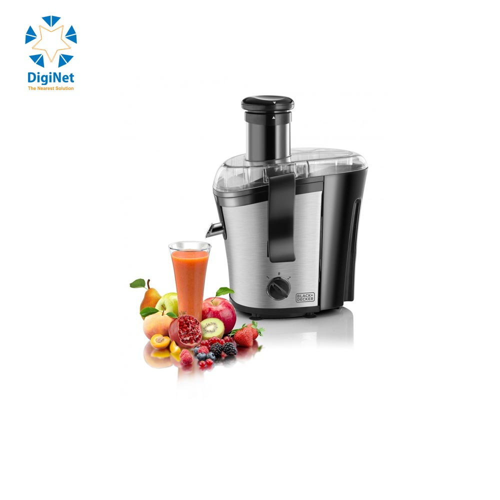 BLACK & DECKER  JUICER EXTRACTOR PRJE700-B5 700W SILVER