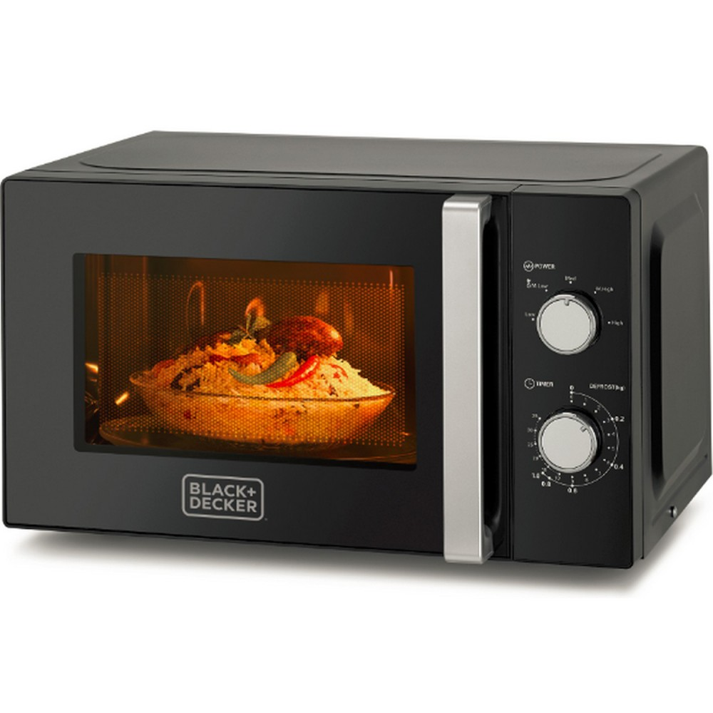 BLACK & DECKER MICROWAVE OVEN MZ2010P 700W 20L BLACK