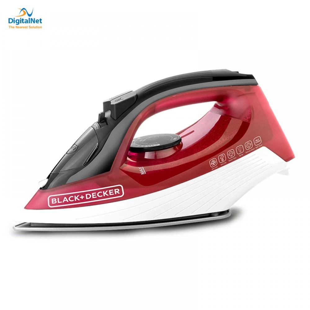 BLACK & DECKER HAND STEAM IRON X1550-B5 1600W RED