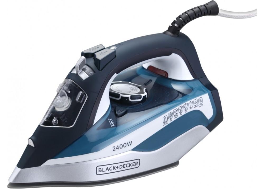 BLACK & DECKER HAND STEAM IRON X2150 2400W BLUE